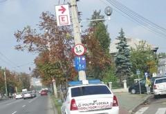 PLOIESTI: Parcare de politist, fotografiată de un şofer amendat