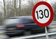 Şofer prins cu viteză HALUCINANTĂ pe Autostrada Bucureşti-Ploieşti
