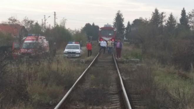 O femeie a fost lovită de TREN în Prahova