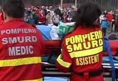 Accident grav la Balotești. Patru oameni au fost răniţi