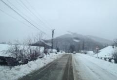 STAREA DRUMURILOR din ţară. Unde se circulă în condiţii de iarnă