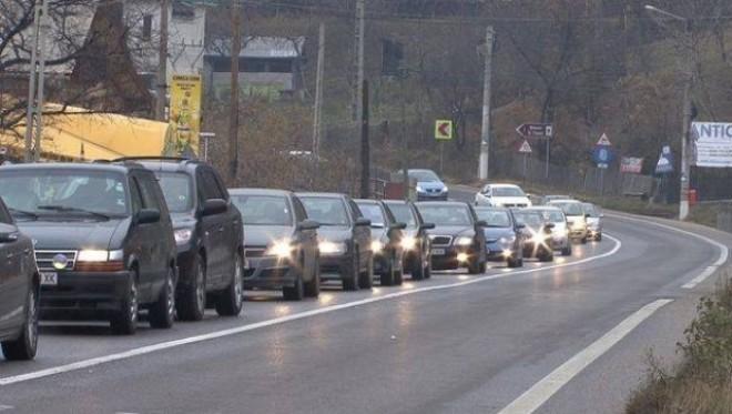 Cum se circulă pe DN1 Ploiești-Brașov