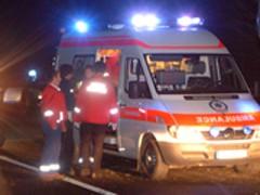 Un şofer fără permis şi beat a intrat cu masina in statia de tramvai de pe Soseaua Nordului