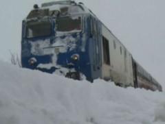 Trenuri CFR ANULATE din cauza GERULUI