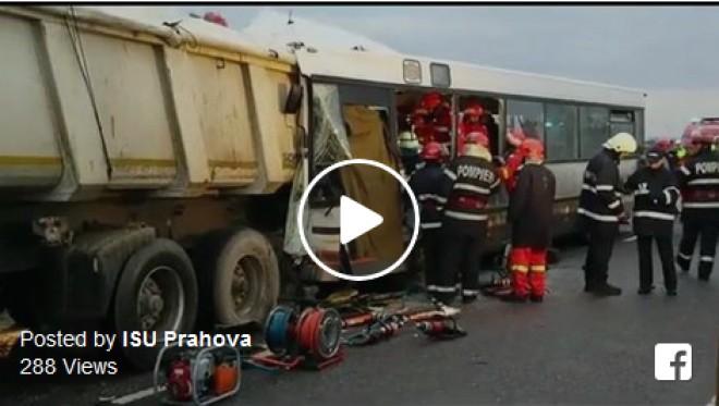VIDEO de la accidentul de pe Centura de Vest