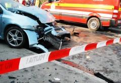 Accident rutier în Buşteni! O persoană a fost rănită