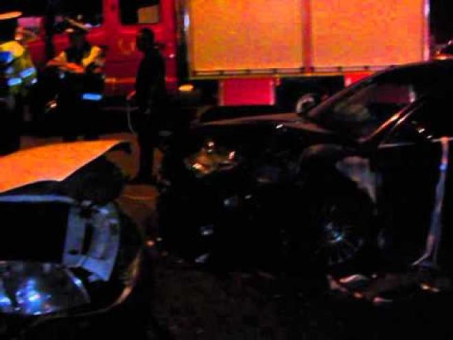 Accident cu trei masini, pe Cantacuzino, in zona Paltinis