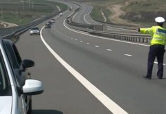 Sofer prins cu VITEZA HALUCINANTĂ pe Autostrada Bucuresti-Ploiesti