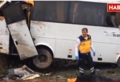 Microbuz cu turiști români, implicat într-un ACCIDENT GRAV în Turcia. Doi morți și 14 răniți