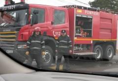 Accident rutier în Albeşti. Două persoane au ajuns la spital