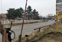 S-a reluat traficul pe DN1B în Blejoi