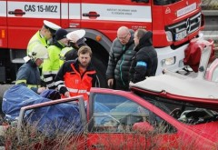 Accident GRAV în Cehia: Patru români au murit
