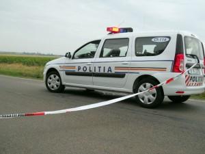 O maşină s-a răsturnat pe DN1, la Paralela 45