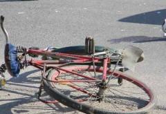 Biciclist lovit de maşină pe strada Rudului din Ploieşti