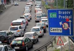 Trafic restricţionat, în weekend, la Sinaia