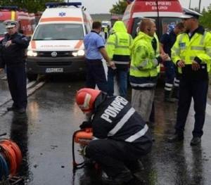Accident rutier pe DN1, la Movila Vulpii