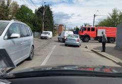 Accident pe strada Văleni din Ploiești