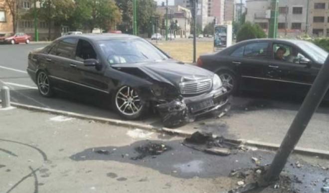 Accident în Ploiești, la intersecția Șos. Nordului cu Găgeni