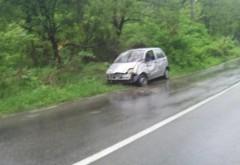 Accident în Apostolache. Două persoane au fost transportate la spital