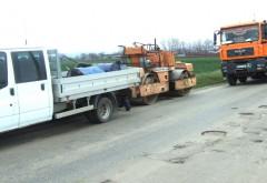 Lucrări de plombare pe DN1 Ploieşti-Sinaia
