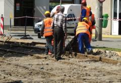 Lucrări de asfaltare pe Şoseaua Vestului. Restricţii la intersecţia cu strada Poligonului