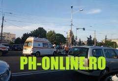 "ACCIDENT GRAV in Ploiesti, langa blocul ""7 etaje"""