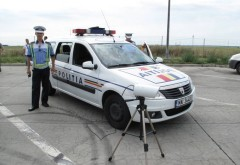 Record de viteză pe autostradă: tânăr prins cu 244 km la oră