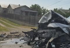 Accident grav pe DN1, la Potigrafu. Doua SUV-uri BMW s-au facut zob