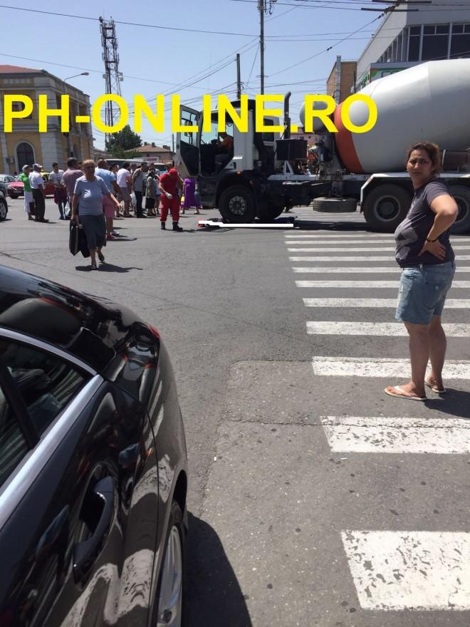 Accident mortal la Gara de Sud. O femeie a fost strivita de o betoniera. IMAGINI CARE VA POT AFECTA EMOTIONAL