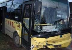 Accident pe strada Mărășești. Un autobuz TCE a fost implicat