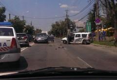 Accident pe Bulevardul Republicii în cartierul Albert