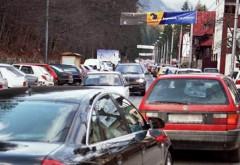 Trafic intens pe DN1 Ploiesti- Brașov