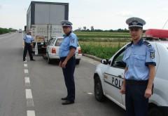 Acţiune a poliţiştilor rutieri pentru combaterea accidentelor rutiere