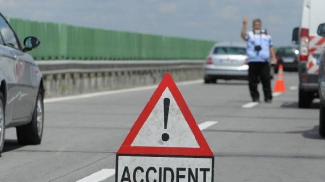 Accidente în lanţ pe Autostrada Soarelui. Traficul pe drumul spre mare este îngreunat