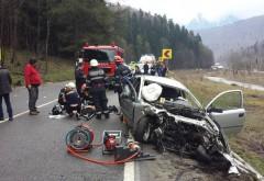 Accident rutier la Azuga