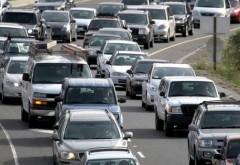 Accident pe Autostrada Soarelui. Coadă de km pe sensul de mers spre Constanţa