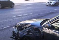Accident pe DN1B. Patru mașini implicate și un TIR