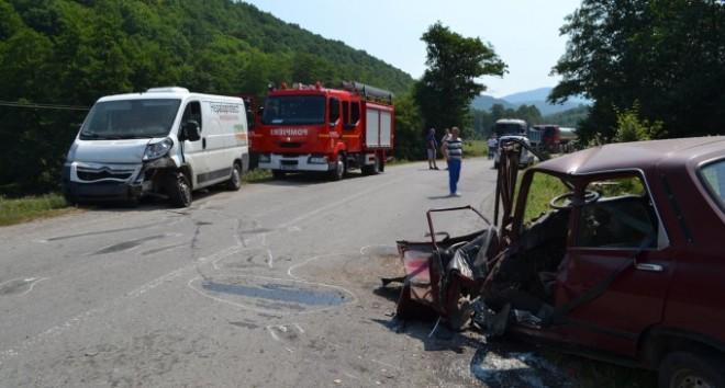 Accident la Chițorani. Traficul este îngreunat