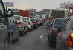 Trafic ÎNGREUNAT pe DN1 între Ploieşti şi Brasov