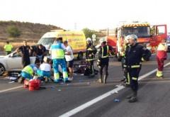 Accidente în lanţ pe Autostrada Soarelui din cauza CEŢII