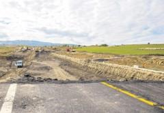 Politia Rutiera a amendat CNADNR pentru starea proastă a unui drum naţional din Prahova