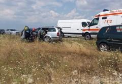 ACCIDENT RUTIER în zona Carrefour. Cinci maşini au fost implicate. 9 persoane RĂNITE