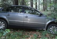 Patru prahoveni s-au răsturnat cu maşina într-o râpă din Bucegi