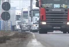 Transportatorii blochează toate drumurile de centură din ţară, din cauza creşterii preţurilor RCA