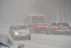Șoselele din România unde se circulă deja în condiții de iarnă