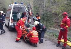 Accident rutier pe DN1, la Azuga