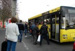 Autobuzele isi schimbă traseul cu ocazia meciului de pe Ilie Oană