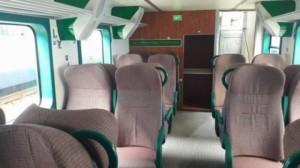 CFR Călători a introdus în circulaţie 4 trenuri MODERNIZATE pe ruta Bucuresti-Ploieşti FOTO
