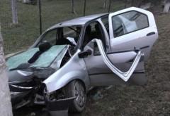 Accident mortal la Românești. Un tanar de 31 de ani si-a pierdut viata dupa ce s-a izbit cu masina de un stalp