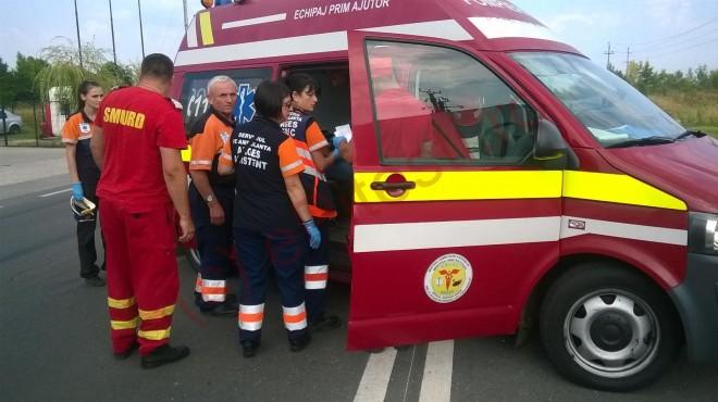 Accident cu patru masini in Ploiesti, in zona Ienachita Vacarescu
